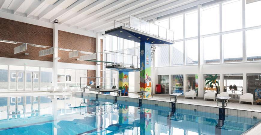 Svømmehallen i Fredericia Idrætscenter